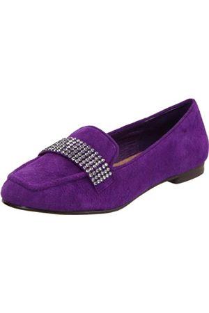 Steven By Steve Madden Moodi Loafer für Damen, Violett (Violettes Wildleder)