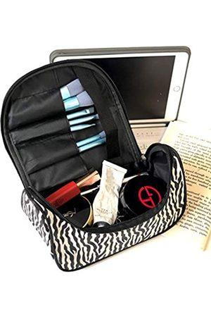 LHome Reise-KosmetikkofferOrganizertragbareKünstler-AufbewahrungstaschefürKosmetikMake-up-PinselToilettenartikelSchmuckdigitalesZubehör