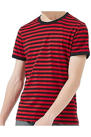 Ezsskj Herren-T-Shirt, kurzärmelig, Rundhalsausschnitt