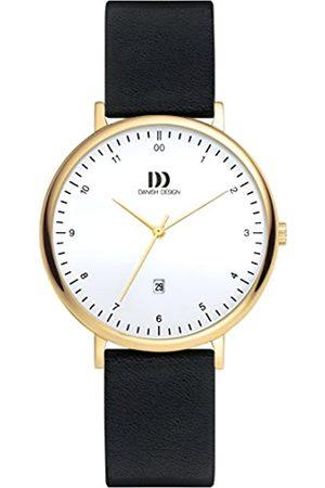Danish Design DanishDesignDamenDatumklassischQuarzUhrmitLederArmbandDZ120653