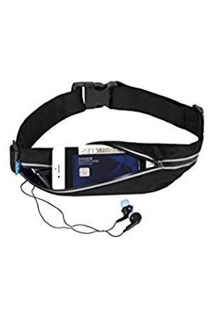 FitKit Fit2Go Bauchtasche für Läufer, Frauen und Männer, Fitness-Workout, erweiterbar, verstellbar, reflektierend, passend für Smartphones bis 17