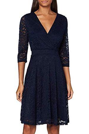 Mela Damen Delicate Lace Long Sleeve Dress Cocktailkleid