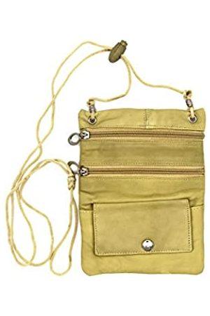 Goson Leder Geldbörse Organizer Schultertasche 4 Taschen Micro Handtasche Reise Geldbörse