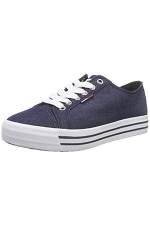 Tommy Hilfiger Damen L1385YON 8D Sneakers, (Midnight 403)