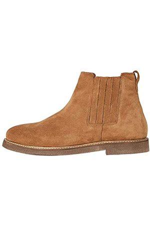 FIND Herren Flynn Chelsea Boots Stiefel, (Tan)