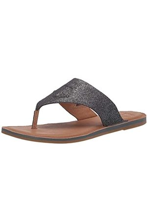 Sperry Top-Sider Damen Seaport Thong METALLIC Leather Sandale