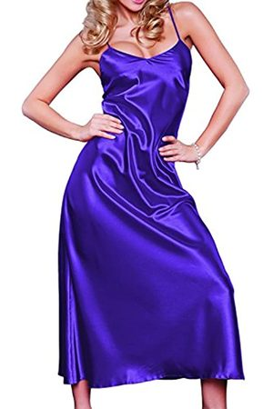 DKaren Damen Nachtwäsche | IGA | aus Satin | Größen XS-2XL 100% Polyester | L
