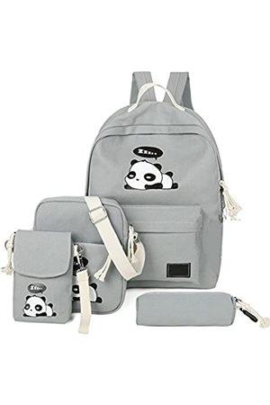 e-youth 4 x süßer Panda-Rucksack aus leichtem