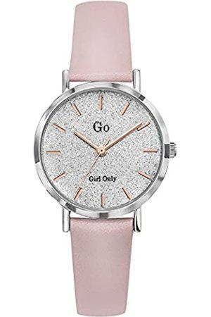 GO Girl Only Damen Analog Quarz Uhr mit Leder Armband 699898