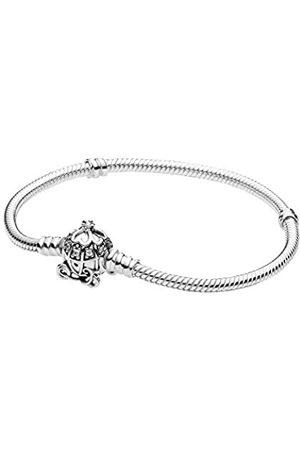 PANDORA Disney Cinderella Kürbiskutschen-Verschluss Armband Sterling- 23 cm