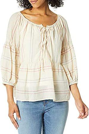 Graham & Spencer Damen T-Shirts, Polos & Longsleeves - Damen Melodia Calico Stripe Blouse Hemd