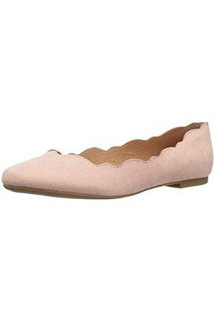 ATHENA Tallye Ballerinas für Damen, Pink (Veloursleder )