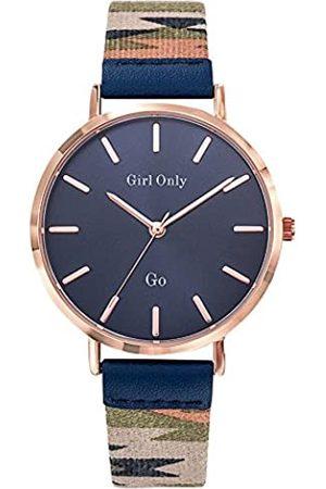 GO Girl Only Damen Uhren - Damen Analog Quarz Uhr mit Stoff Armband 699146