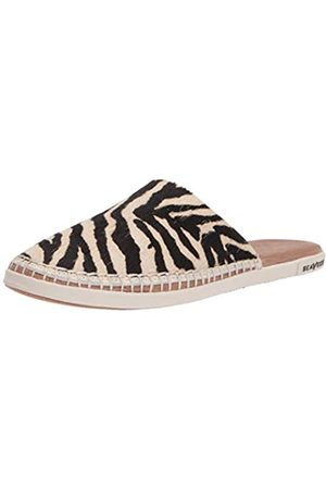Seavees Damen Lido Slide Pantolette, (Zebra)