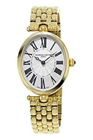 Frederique Constant Damen Analog Quarz Uhr mit Edelstahl beschichtet Armband FC-200MPW2V5B