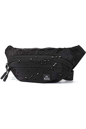 HYC00 Damen Sporttaschen - Schwarze große Bauchtasche für Männer und Frauen, Übergröße, Taille, wasserdicht, Fitnessstudio, Outdoor, Mode, Gürteltasche für Männer mit Reißverschluss, verstellbarer Riemen