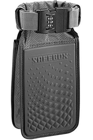 Lewis N. Clark Damen Slips - Safebox tragbarer Safe mit Anti-Diebstahl-Zahlenschloss und schnittfestem Material zum Schutz der Brieftasche (Schwarz) - 94092GRY