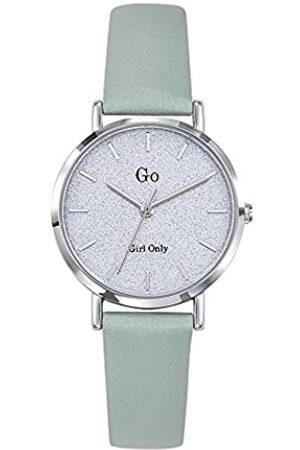 GO Girl Only Damen Analog Quarz Uhr mit Leder Armband 699896