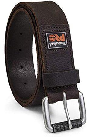 Timberland Herren 38mm Boot Leather Belt 38 mm, Stiefel, Leder, Gürtel