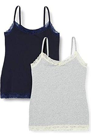 IRIS & LILLY Damen Skiunterwäsche - Amazon-Marke: Damen Top Belk029m2, Mehrfarbig (Nachthimmel/Melange/Mixed), XS