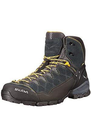 Salewa Herren MS Alp Trainer Mid Gore-TEX Trekking-& Wanderstiefel, Carbon/Ringlo