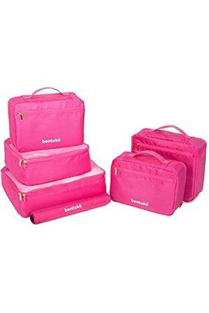 bentoko Reisetaschen - 6-teiliges Reise-Verpackungswürfel-Set. (Pink) - UIEHBCV