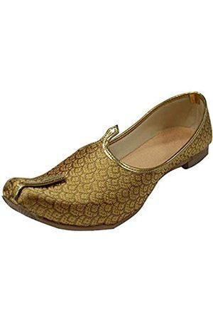 Stop n Style Herren Schuhe - Herrenschuhefarben, Antik-Look, formelle Schuhe, handgefertigt, Jooti, ethnische Jutti, Mojari