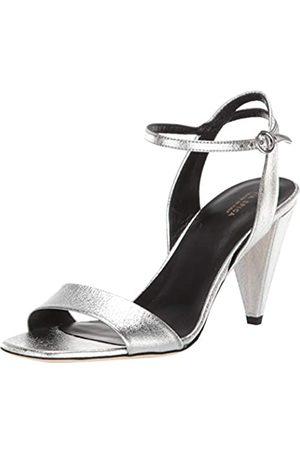 Via Spiga Damen A Sleek Strappy Featuring a Cone Heel and Slim Ankle Strap. Sandalen mit Absatz, V-ria