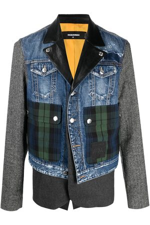 Dsquared2 Jacke im Patchwork-Look