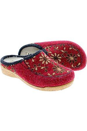 Taos Footwear Damen Woolderness 2 Clog, (cranberry)