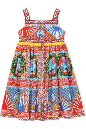Dolce & Gabbana Kids Kleid mit grafischem Print
