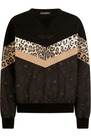 Dolce & Gabbana Patchwork-Sweatshirt