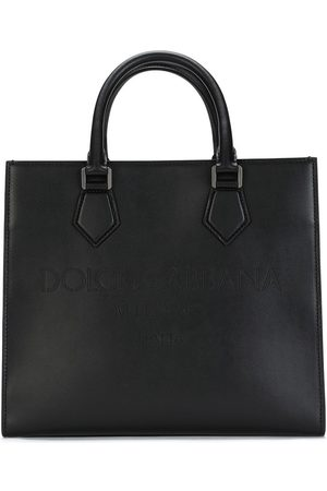 Dolce & Gabbana Shopper mit Logo-Prägung