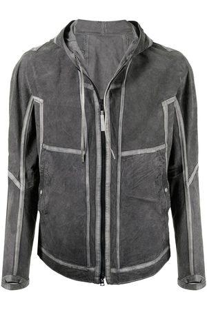 Isaac Sellam Experience Herren Sweatjacken - Versatile Recto Verso hooded jacket
