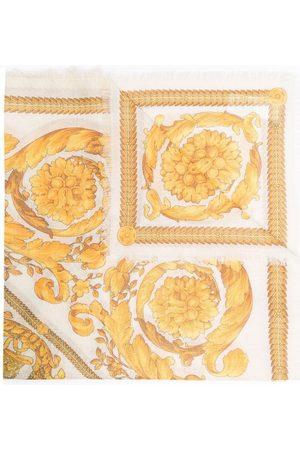 VERSACE Barocco-print scarf