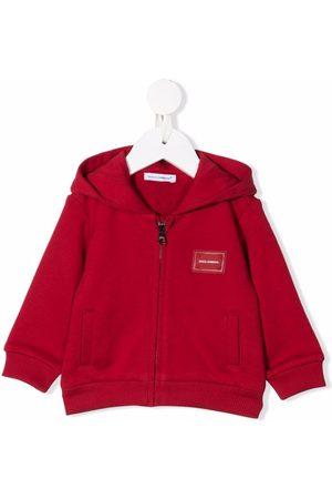 Dolce & Gabbana Kids Sommerjacken - Jacke mit Logo-Patch