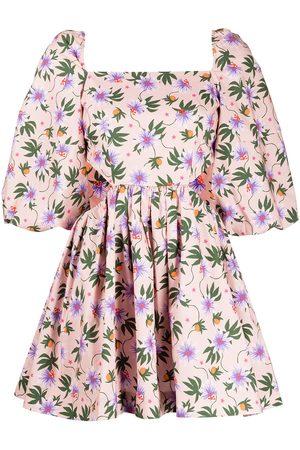 LHD Damen Freizeitkleider - Minikleid mit Copacabana-Print
