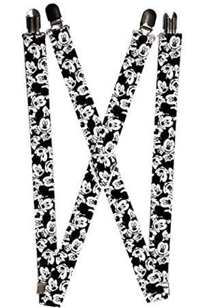 Buckle-Down Herren Suspender-Mickey Mouse Strumpfhalter