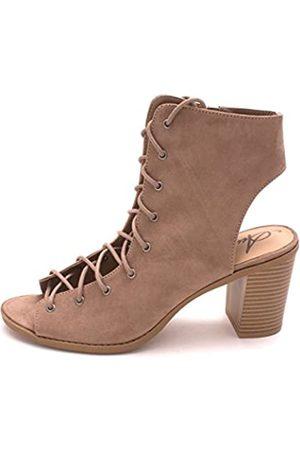American Rag Damen Stiefeletten - Womens Savanah Open Toe Ankle Fashion Boots