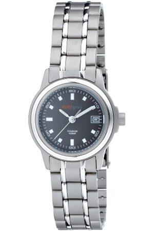 Pure Grey Damen-Uhren Titan 7715 S