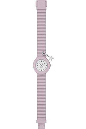 Hip Armbanduhr Frau Piercing quadrante Weiss e uhrarmband in silikon, Glam lile Star