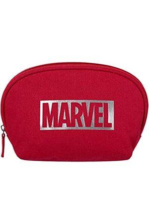 MINISO Marvel tragbare Make-up-Tasche für Damen, Reiseaufbewahrung, Kosmetiktasche, Kulturbeutel