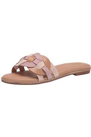 Crevo Damen Poppi Flache Sandale