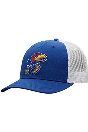 Top of the World NCAA Kansas Jayhawks Herren BB Trucker Hat Team Farbe Primary Icon, Kansas Jayhawks Blue