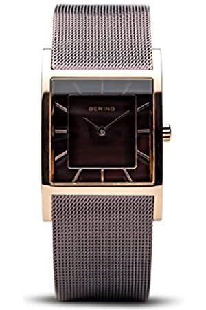 Bering Damen Analog Quarz Classic Collection Armbanduhr mit Edelstahl Armband und Mineralglas 10426-265