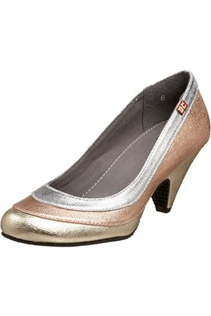 BC Footwear Damen Pumps - Damen Celebutante, Gold (Metallic Multi)