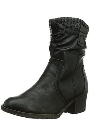 Soft Line Damen Stiefeletten - Damen 26362 Kurzschaft Stiefel, (Black 1)