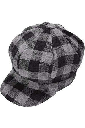 ZLYC Damen Hüte - Damen Klassische Newsboy Caps Visor 8 Panel Gatsby Cabbie Hut - - Einheitsgröße