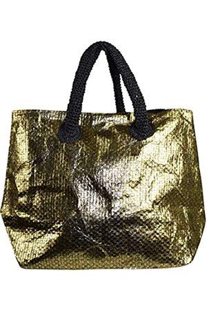 Peach Couture Große Reisetasche Hobo Handtaschen Schultertaschen Gold Weave, Gold ( / goldfarben)