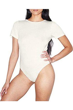 American Apparel Damen Mix Modal Short Sleeve T-Shirt Bodysuit Bodystocking